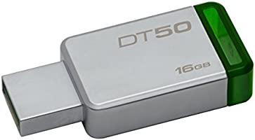 Kingston DataTraveler 50 16GB USB 3.0 Flash Drive (DT50/16GB)