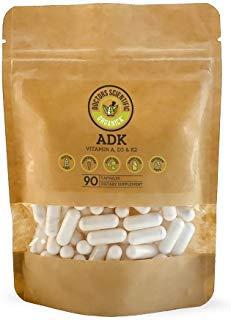 DSO ADK (Vitamins A, D3 & K2) 90 Capsules