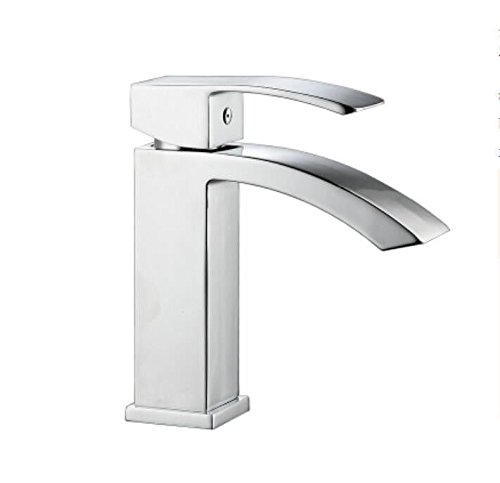 Decorry All Copper Washbasin, Faucet, Faucet, Hot and Cold Water Faucet, Basin, Seat, Single Handle, Single Hole, High Table, Upper Basin, Water Faucet, Ceramic Disc Spool.