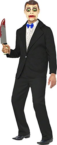 Ventriloquist Costume Man (Smiffys Men's Ventriloquist Dummy Costume)