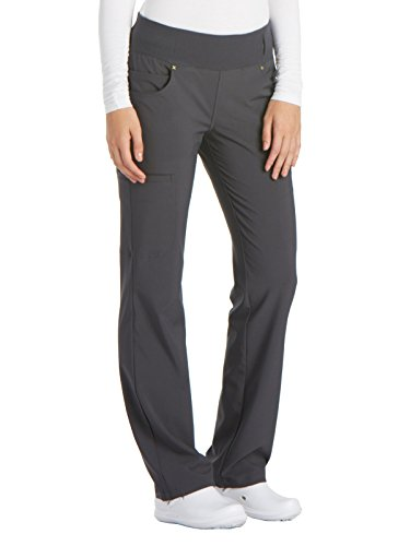 Cherokee iFlex CK002 Mid Rise Pull-On Pant Pewter 2XL Petite