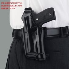 Galco Halo Belt Holster (Black), Sig-Sauer P226 with Weapon Light, Right Hand