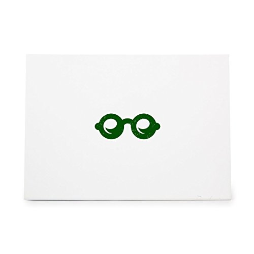 Glasses Bifocals Eyesight Reading Spectacles Style 10625, Rubber Stamp Shape great for Scrapbooking, Crafts, Card Making, Ink Stamping - Spectacle Styles
