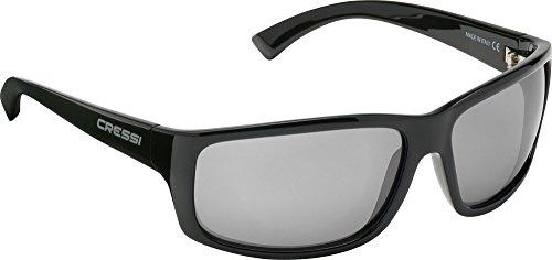 Deportivas Gafas Sol Gris Cristales Cressi para Brillante Adulto de UV Anti 100 Polarizados Negro dtqnf