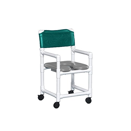 Standard Soft Seat Shower Chair 20'' Clearance Gray Seat Teal