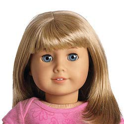 American Girl - My American Girl Doll with Light Skin, Short Blonde Hair with Bangs and Blue Eyes - E32 (Star Doll Code Girl American)