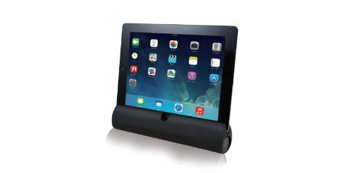 Adesso Xtream S3 Bluetooth 3.0 iPod, iPad, iPhone, Smartphone and Tablet Speaker/Stand with Built-In Microphone and Battery Indicator (Black) by Adesso