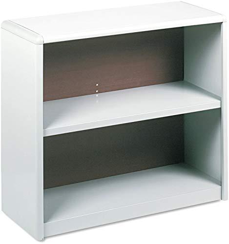 Safco Products 7170GR ValueMate Economy Bookcase, 2-Shelf, Gray