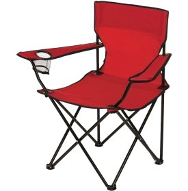 Dicks Sporting Goods Logo Chair  Red Red