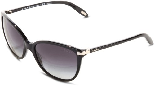 Ralph by Ralph Lauren 0RA5160 501/11 Cat Eye Sunglasses,Black,57 - Ralph Sunglasses