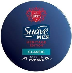 Suave for Men Heritage Edition Styling Pomade, Classic, 1.75