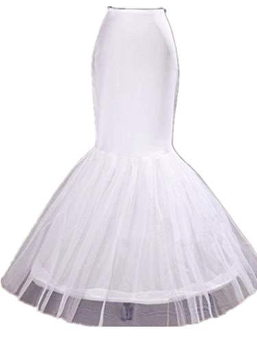 (Diandiai Mermaid Petticoat For Mermaid Prom Gown Crinoline slips underskirt For Mermaid Wedding dress )