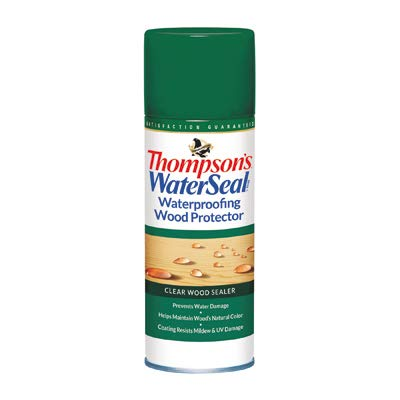 Thompsons Waterseal TH.041800-18 Waterproofing Wood Protector Spray, Clear, 11-oz. - Quantity 6 ()