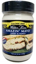 - Walden Farms Mayo, Sugar Free, Calorie Free, Carb Free, Fat Free, 12 oz.