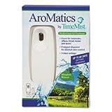 ** AroMatics Dispenser/Refill Kits, 3oz Meadow Breeze Refill, White Dispenser