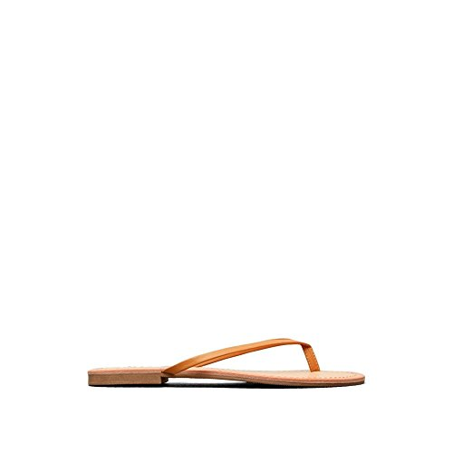 Reaction Kenneth Cole Just Be Thong Sandal - Women's - Tan (Cole Kenneth Shoes Just)