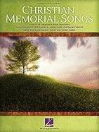 Christian Memorial Songs (Pvg)