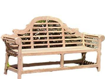 Outstanding Patio Essentials Lutyens Solid Teak 4 Seat Garden Bench 1 8 M Machost Co Dining Chair Design Ideas Machostcouk
