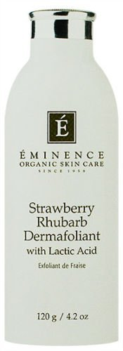 Eminence Strawberry Rhubarb Dermofoliant Lactic 4.2oz All Skin New Fresh Product by naturulse