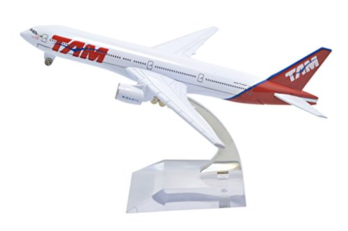 TANG DYNASTY(TM) 1:400 16cm Boeing B777 Brazil TAM Airlines Metal Airplane Model Plane Toy Plane (Brazil Airplane)