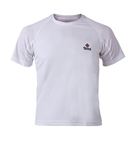 Camiseta Creus Izas Hombre De Running Para Blanco 6Sx1Fqwx5