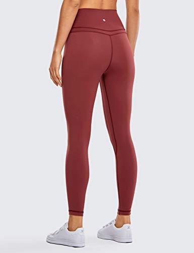 CRZ YOGA Women's Naked Feeling I High Waist Tight Yoga Pants Workout Leggings-25 Inches