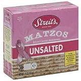Streits Unsalted Matzo, 11 Ounce - 12 per Case