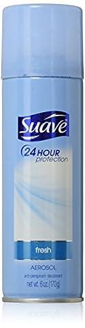 Suave Anti-Perspirant & Deodorant, Aerosol, Fresh - 6oz. - Suave Spray Baby Powder