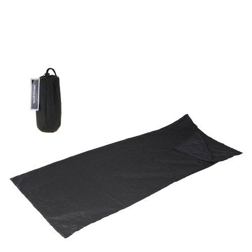 Hüttenschlafsack Schlafsack Inlet 190x75cm mit Tasche Reiselaken