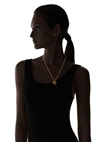 Dolce & Gabbana - DJ1049 - CALAMITY J - Collier Femme - Acier - Doré - Cœur - Logo D&G