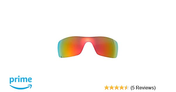 4abbb860d53 Amazon.com  Polarized Replacement Lenses for Oakley Batwolf Sunglasses  (Fire Red) NicelyFit  Clothing