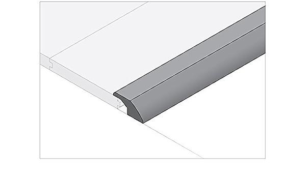 Moldings Online 2072878035 78 x 2.25 x 0.78 Natural Semi-Gloss Pine Reducer Overlap
