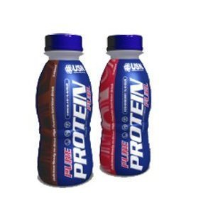 USN Pure Protein Fuel RTD Protein Drink - Chocolate 1 x 330ml by USN by USN