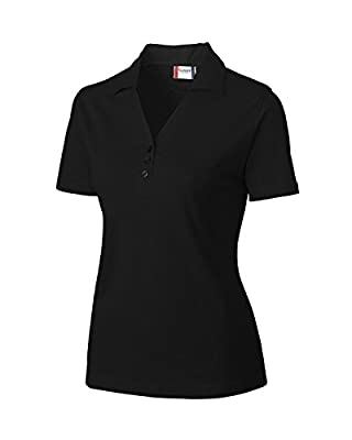 Cutter & Buck LQK00010 Womens Harper Lady Pima Pique Polo