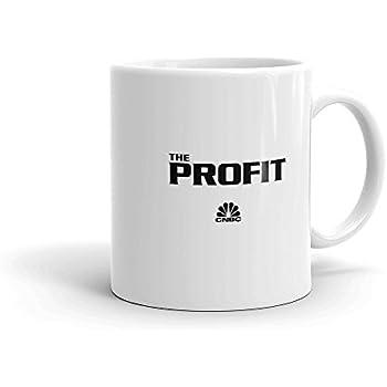 f93e7f840ae Amazon.com: The Profit Logo 11oz White Mug - Official Coffee Mug ...