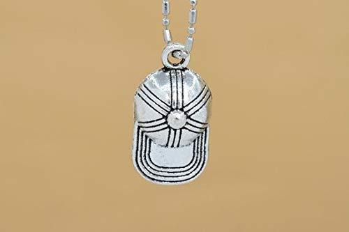 #YBL/_22110 19x10MM Baseball Cap Charm Antique Tibetan Silver Tone Zinc Alloy Charm 61677-2063 10 Pcs