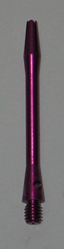 US Darts - Purple Aluminum Dart Shafts - 3 sets (9 shafts), 2ba Dart Short
