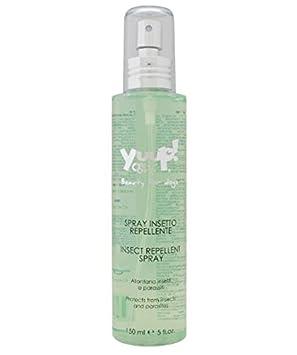 Yuup - Spray repelentes de insectos, ideal para el verano, aleja de manera natural insectos y parásitos, para perros y gatos: Amazon.es: Deportes y aire ...