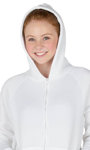 e0cfdacb1 PaJoggers - White Frosting Kids Footless Hoodie One Piece - Large ...