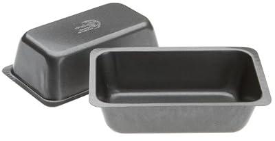 Range Kleen Mini Loaf Pan Set, 2 Count, 5 1/2 x 3 1/8 x 1 7/8 Inch