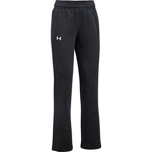 Under Armour Hustle Fleece Team Pant Womens 1300267 - Black