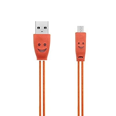 ??Gmgod??Colorful Gradient LED USB2.0 Micro Cable Charge Data for Android Smart