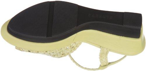 Farrutx plattform sandal 41774 - Sandalias de vestir para mujer Amarillo