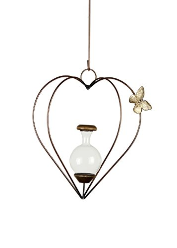 (The Brass Butterfly Dimensional Heart Planters)