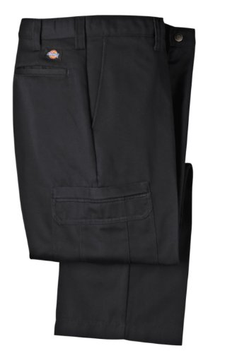 Dickies Occupational Workwear LP337BK 36x34 Cotton Relaxe...