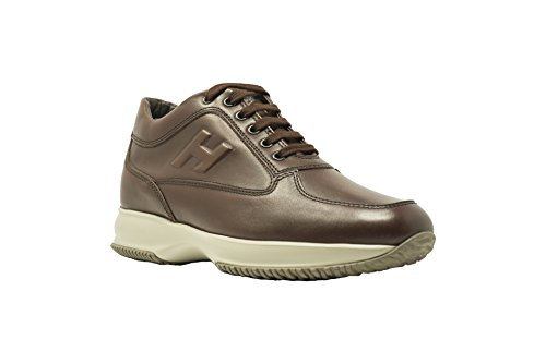 Hogan Interactive Uomo HXM00N090417X7G839 Sneakers Pelle Cuoio Cuoio