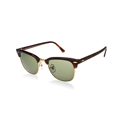 Ray Ban RB3016 W0366 51 Tortoise/Arista Clubmaster Sunglasses Bundle-2 - W0366 Rb3016