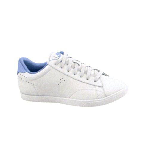 Nike Dames Racquette Lederen Sneaker Wit / Aluminium / Wit (maat 9 B (m) Ons)
