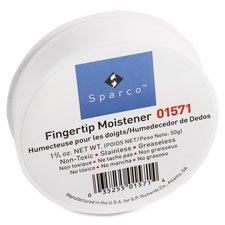 Fingertip Moistener, Glycerine, 3'', 1-3/4 oz., 6/PK, Pink, Sold as 1 Package, 6 Each per Package