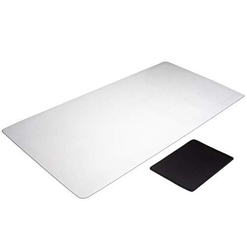 "Clear Desk pad | Non-Slip | Round Edges | 34"" X 17"" 